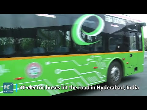 Why is Chinese electric buses&39; popularity on rise in India?
