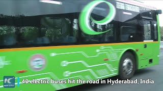 Baixar Why is Chinese electric buses' popularity on rise in India?