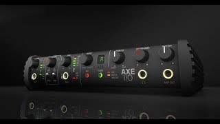 AXE I/O - High-end sound meets best-in-class guitar tone
