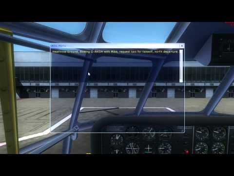 A2A B377 Stratocruiser Tutorial 1, PreFlight - Takeoff