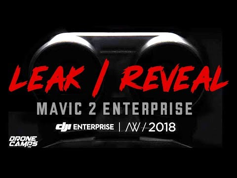 DJI Mavic 2 Enterprise Announcement - LEAK & REVEAL - Find out what's in the dark image!
