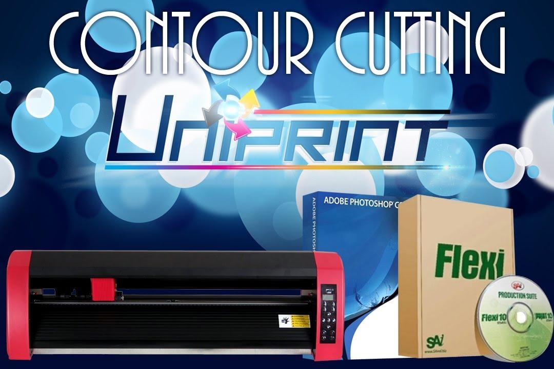UNIPRINT Cuyi Contour Cutting using FlexiStarter 10.5 via ...