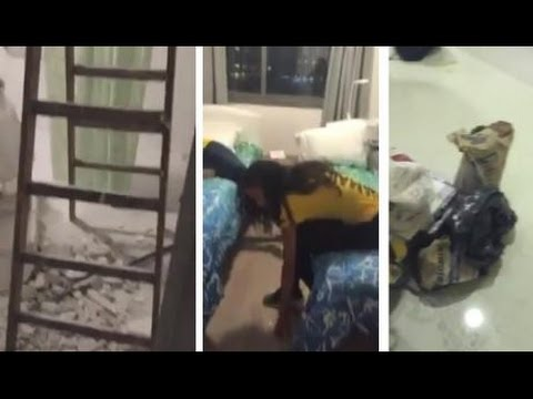 THE GLEANER MINUTE: Unfinished Rio rooms...Woman hurt in police shoot-out...Cocaine in the mail