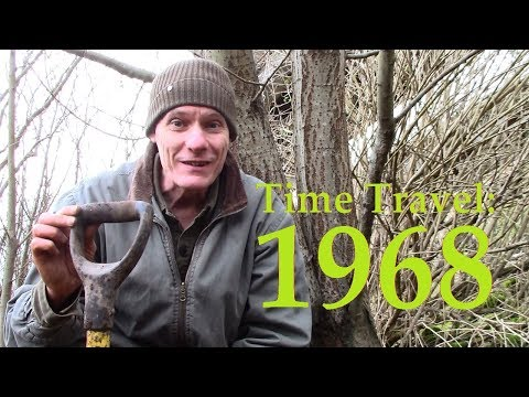 TRAVEL BACK IN TIME TO 1968: metal detecting, unusual old bottles, mystery copper & household items