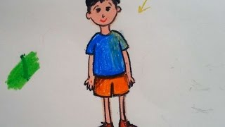 Çocuk çizimi/ resim nasıl çizilir / resim çizme teknikleri / sanatın renkleri /