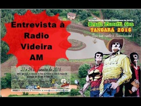 ENTREVISTA RADIO VIDEIRA AM 2016