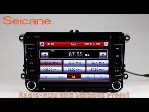 Jetta Mk4 Radio Wiring Diagram Door Chime 7 Inch Hd Touch Screen 2 Din Universal For Vw Volkswagen With Dvd Player Gps Sat Nav