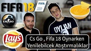 ( Lays ve yoğurtlu dip sos tarifi ) CS GO - FIFA 18 Oynarken yenilebilecek atıştırmalıklar !