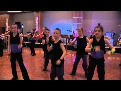 The ESMS Junior School Flash Dance group