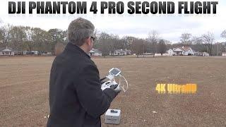 DJI Phantom 4 Pro Second Flight