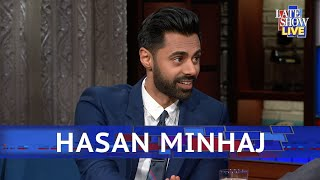 Hasan Minhaj Won't Say Trump's Name On His Show
