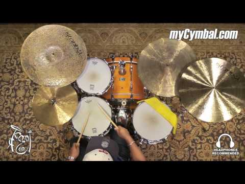 "Istanbul Agop 20"" Turk Crash Cymbal - 1651g (TC20-1080316Q)"