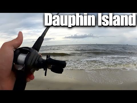 Surf Fishing At Dauphin Island - Easy Saltwater Beach Fishing