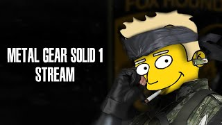 Metal Gear Solid (PC) Stream - Feat. LogosSteve, Gaming University (Part 1)