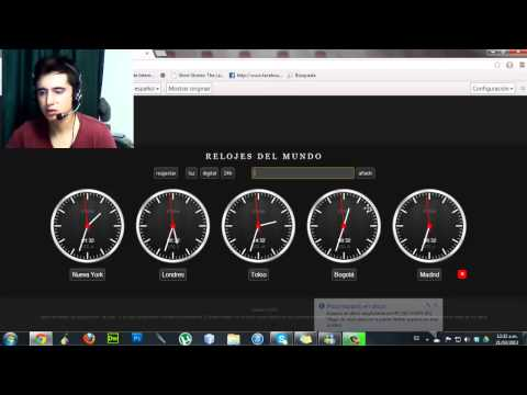 Apps Chrome. World Clocks