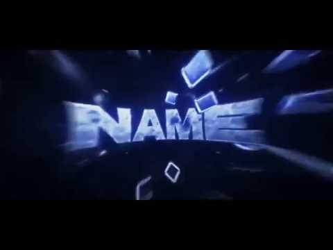 SICK FREE BLUE INTRO TEMPLATE | Cinema 4D/AE Template 19#