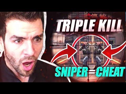 FULL TEAM 1 vs 5 au Sniper sur ZULA ! (Découverte Opé)