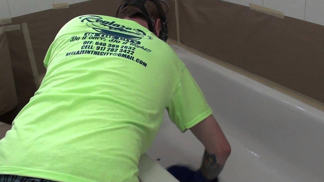 Ny Bathtub Reglazer Www.nycbathtubreglazers.com 917 282 3422