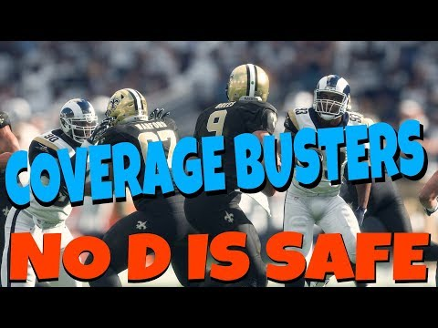 SCORE EVERY PLAY! A 1 PLAY TD VS EVERY COVERAGE FROM SAINTS PLAYBOOK MADDEN 18 PASS MONEY PLAYS TIPS
