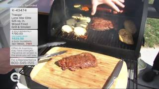 Traeger Lone Star Elite 525 sq. in. Wood Fired Grill & Smoker on QVC