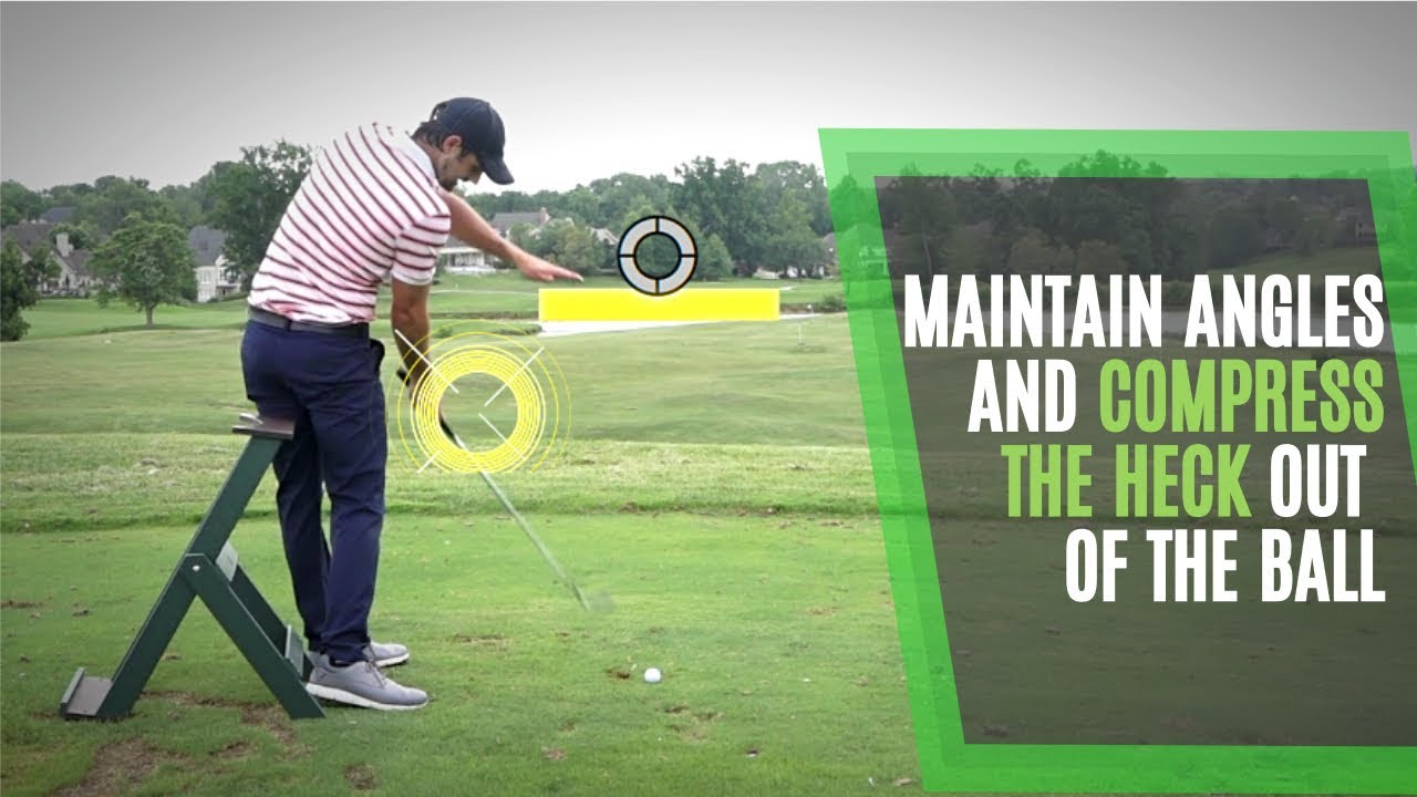 Hit Down On Irons And Compress The Ball With A Simple Golf Swing