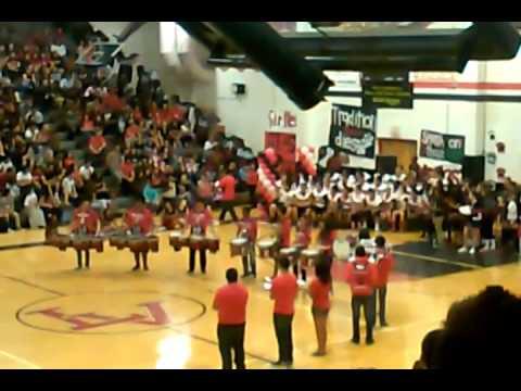 Las Vegas High School 2014 Drumline