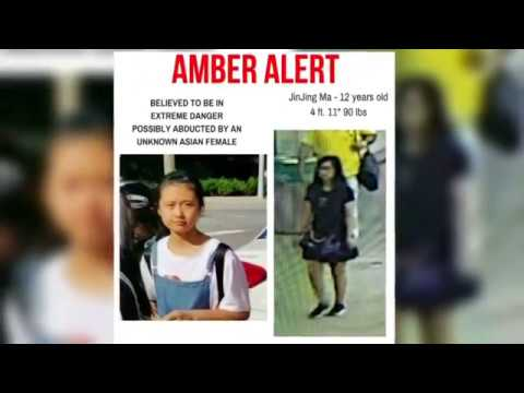 Missing Chinese girl found safe in New York City: Police