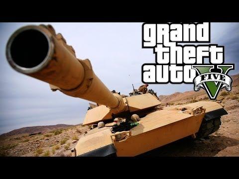 GTA 5 Tank Rampage vs 5 STAR POLICE  Montage