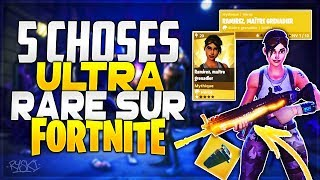 Fortnite: The 5 Rareest Things of Fortnite Save the World! - ( Hero, Weapons, Items)