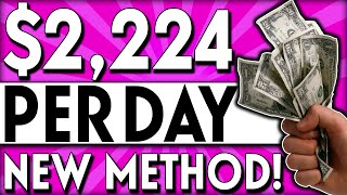 Earn $2,224 A DAY Uploading SIMPLE Videos (Make Money Online) New Method!