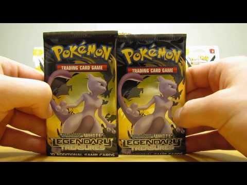 2 Legendary Treasures Pokemon Booster Pack Opening (EX Full Art Pull!)