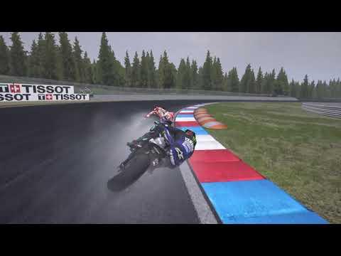 First 2 Lap Battle At MotoGP 20 Game |