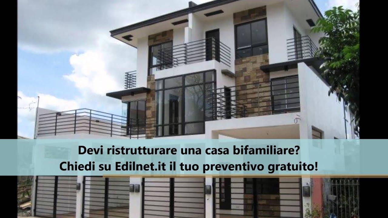 Costo ristrutturazione casa bifamiliare edilnet it youtube - Costo ristrutturazione casa ...