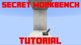 [Minecraft] - Popup Workbench - Tutorial