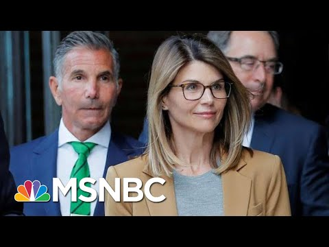 Lori Loughlin Pleads Not Guilty In College Admissions Scam | Craig Melvin | MSNBC