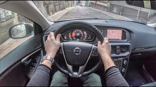 Volvo V40 II Cross Country | 4K POV Test Drive #164 Joe Black