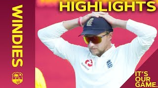 Bravo Stands Tall Against England Onslaught | Windies vs England 2nd Test Day 2 2019 - Highlights