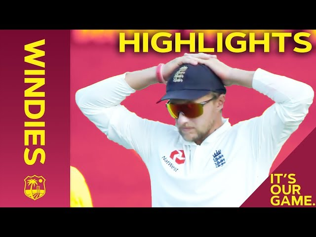 Bravo Stands Tall Against England Onslaught   Windies vs England 2nd Test Day 2 2019 - Highlights