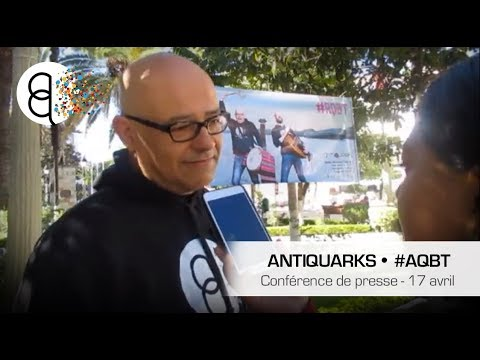 Antiquarks ● Bolivia Tour ● #AQBT ● Conférence de presse ● 17 avril 2018