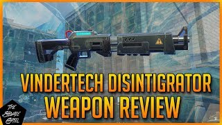 VINDERTECH DISINTEGRATOR IN-DEPTH REVIEW! [FORTNITE STW WEAPON REVIEW]