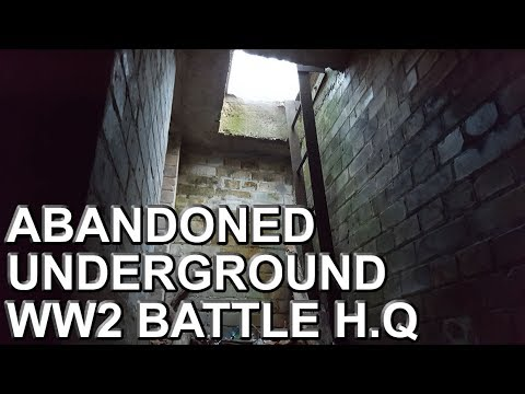 ABANDONED MILITARY BATTLE HQ – R.A.F West Malling Bunker