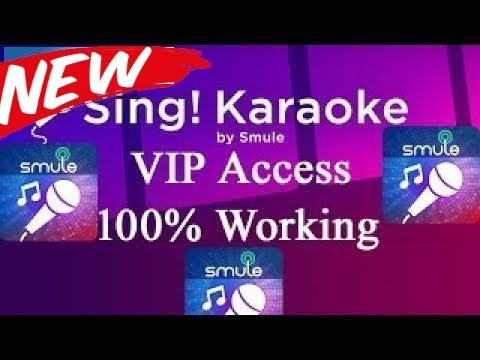 smule sing hack VIP Access pass For Lifetime  2018 woring(100%)