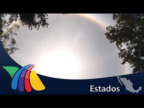 Un halo solar sorprendió a los veracruzanos   Noticias de Veracruz
