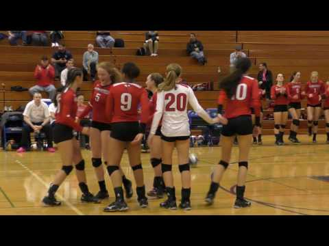 Girls Varsity Volleyball Baldwinsville VS West Genesee 11/9/2016 (Section Finals)