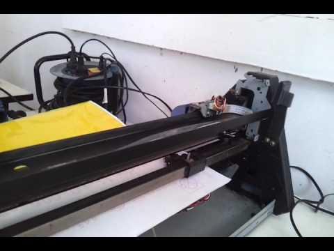 3. เครื่อง Roland GX24  อาการขึ้น MOTOR ERROR  2/5