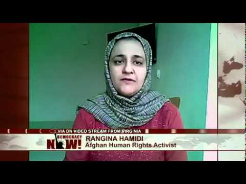 Afghan Women's Activist Rangina Hamidi: Worsening Conditions Should Hasten U.S. Withdrawal