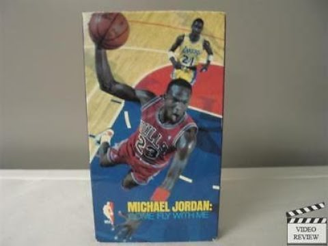 Michael Jordan:Come Fly With Me (Full 1989 CBS/FOX Video VHS)