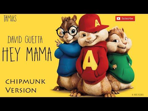 David Guetta - Hey Mama (Chipmunks Version) HQ