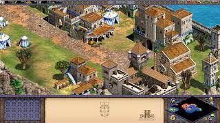 【実況】Age of Empires 2 フランシスコ デ アルメイダ 戦国のインド(海賊を襲ってみた) 簡単