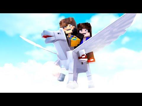 Minecraft: MUNDO L - EU TENHO UM PEGASUS - ‹ JUAUM › #27